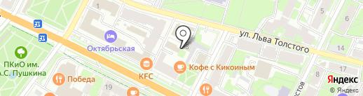 ZIP CAR на карте Пскова