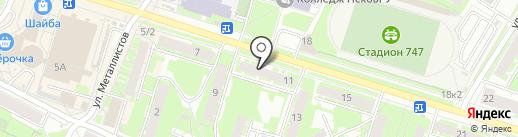 Магазин мебели на карте Пскова