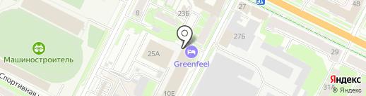 Уют-Сервис на карте Пскова