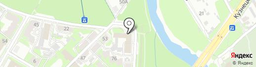 Управление Федерального казначейства по Псковской области на карте Пскова