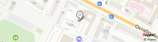 Министерство иностранных дел РФ на карте Пскова