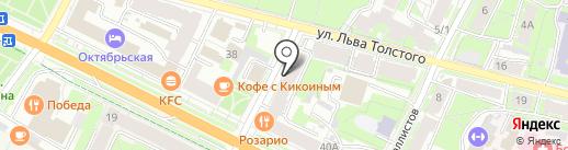 Стоматолог-ортопед на карте Пскова