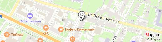Tianshi на карте Пскова