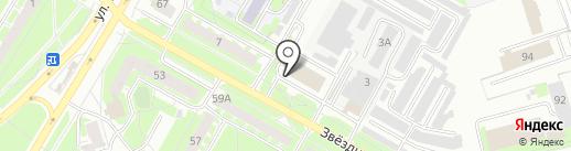 Мастерская по ремонту стиральных машин на карте Пскова