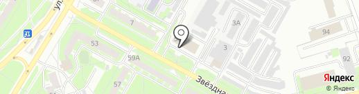 AcRo FIT на карте Пскова