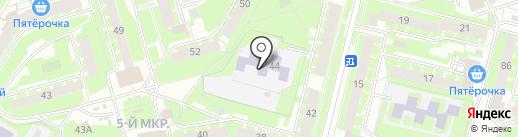 Детский сад №40, Ручеёк на карте Пскова