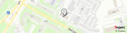 Март+ на карте Пскова