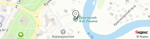 Дом-музей Искра на карте Пскова