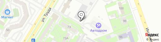 АвтократЪ на карте Пскова