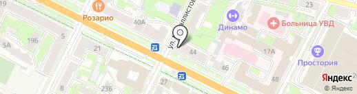 А-РЕАЛ на карте Пскова
