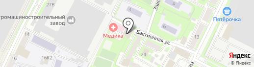 Айти Сервис на карте Пскова