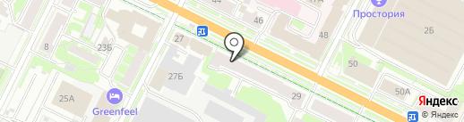 Совкомбанк, ПАО на карте Пскова