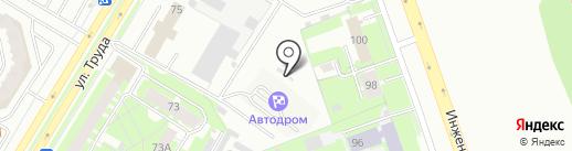 Autochoice на карте Пскова