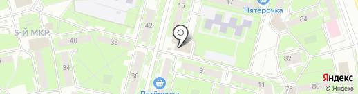 Ателье по ремонту одежды на ул. Новосёлов на карте Пскова