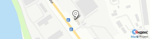 АВГУСТ-ВЕСТ ПЛЮС на карте Пскова