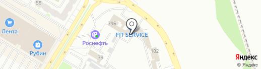 Авто-бистро на карте Пскова