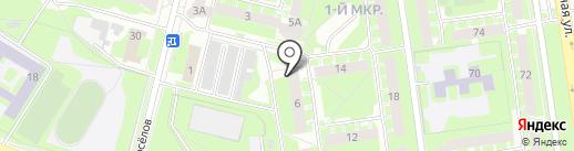 Отдел управления Пенсионного фонда РФ по Псковской области на карте Пскова