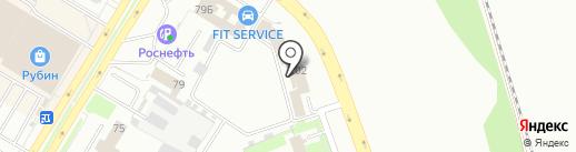Авто Мега Моторс на карте Пскова