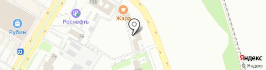 Автогарант на карте Пскова