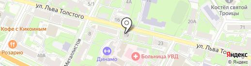 ЭНКИ на карте Пскова