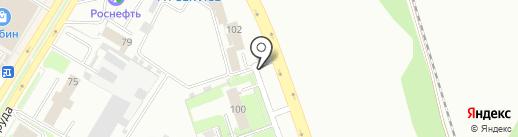 Экспресс на карте Пскова