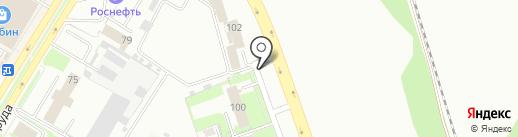 Авторемонт на Инженерной на карте Пскова