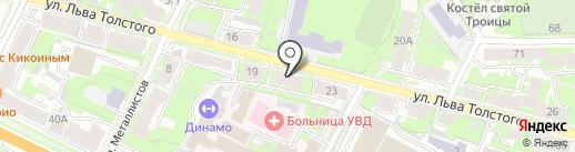 Супермаркет детских автокресел на карте Пскова