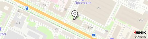 Гарант-Сервис на карте Пскова