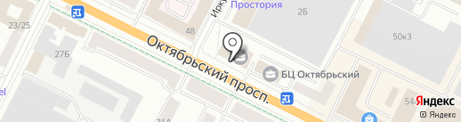 Coffeetel на карте Пскова