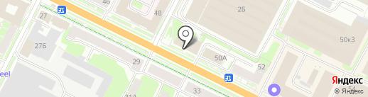 Кадастровый центр на карте Пскова