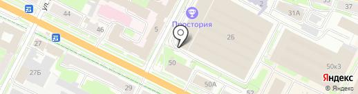 Семья на карте Пскова