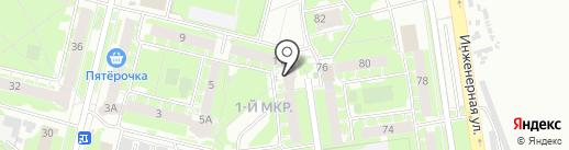 Государственная инспекция труда в Псковской области на карте Пскова