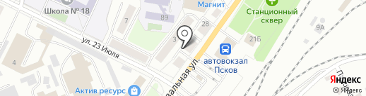СушиРитто на карте Пскова