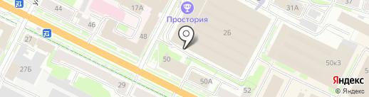 Маруся на карте Пскова