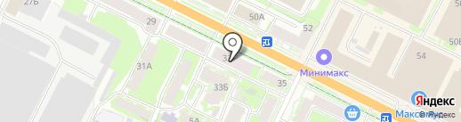 Elegance des formes на карте Пскова