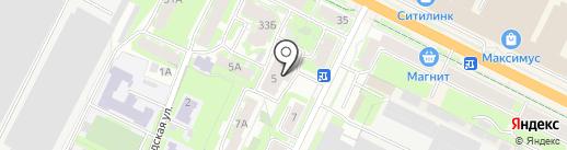 Дикси на карте Пскова