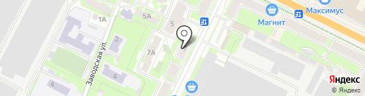 Акцент на карте Пскова