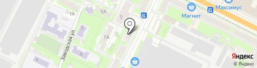 Профи-Кар на карте Пскова