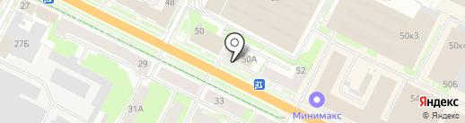 Юрлайф на карте Пскова