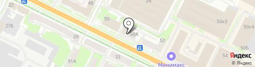Умное тело на карте Пскова