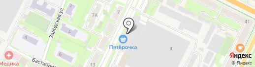 Континент Сервис на карте Пскова