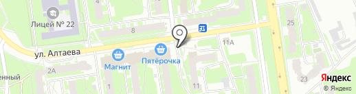 Старорусская мельница на карте Пскова