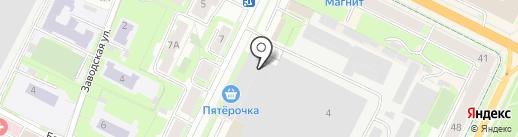 Марафет на карте Пскова