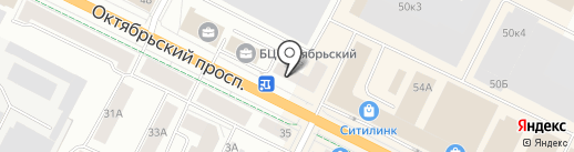 Адвокатский кабинет Ковалевич О.В. на карте Пскова