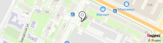 Тотоша на карте Пскова