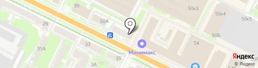 Великолукский мясокомбинат на карте Пскова