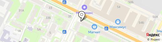 Frizz на карте Пскова