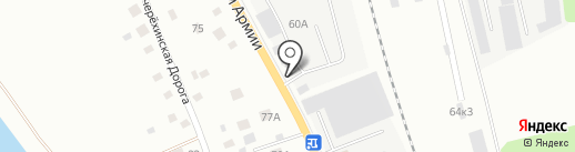 Железный мастер на карте Пскова