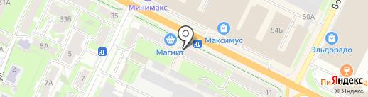 Дисконт-магазин обуви на карте Пскова