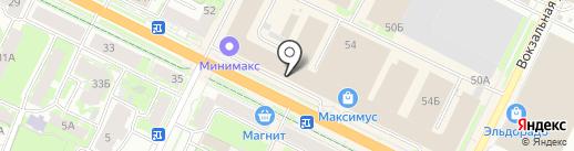 Ценопад на карте Пскова